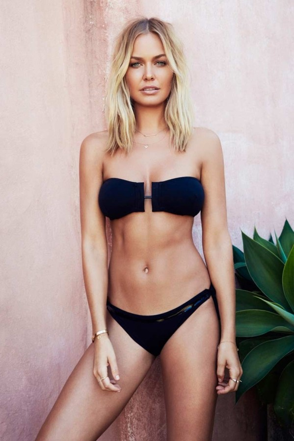 get in the know who magazine s latest cover girl lara bingle and the
