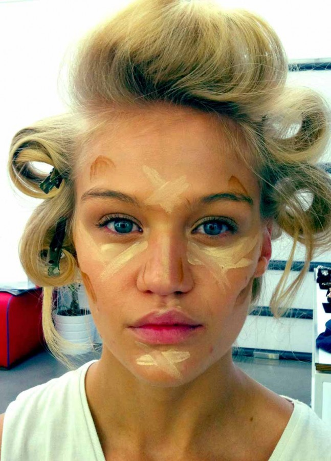 Easy Steps to Contour Face images